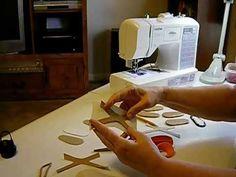 How to Make Doll Shoes - V Sandals Pt. 2