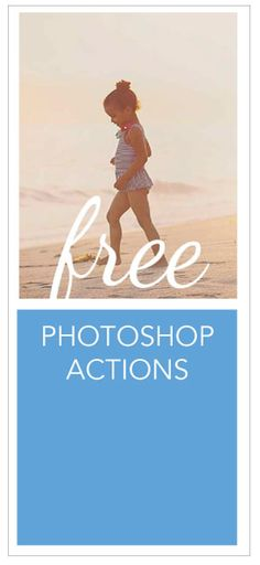 Free Photoshop Actions from Morgan Burks
