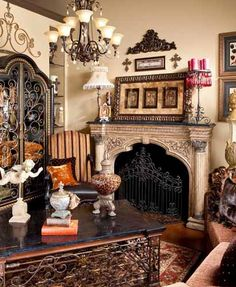 From Donna moss on Donna decorates Dallas! Interior Decorating Styles, Tuscan Decorating, Decorating Ideas, Decor Ideas, Room Ideas, Interior Designing, Interior Ideas, Tuscan Design, Tuscan Style