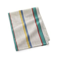 Vintage Stripe Dish Towel | Crate and Barrel