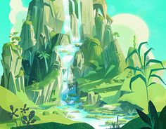 """Check out new work on my @Behance portfolio: """"Pandaland Concepts"""" http://be.net/gallery/46482939/Pandaland-Concepts"""