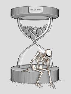 Illustrations — Nacho Diaz — time death