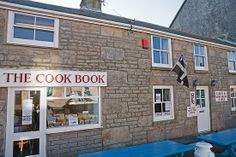 'The Cook Book' in St Just, Cornwall.