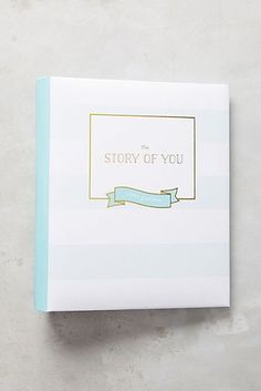 Story of You Baby Book