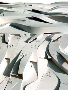 Super Ideas For Landscape Architecture Waterfront Design Modern Landscape Design, Landscape Architecture Design, Concept Architecture, Modern Landscaping, Urban Landscape, Landscaping Ideas, Architecture Pliage, Folding Architecture, Parametric Architecture