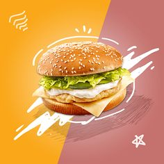 Artes editáveis para lanchonetes • Digitout Food Graphic Design, Food Menu Design, Food Poster Design, Creative Poster Design, Ads Creative, Creative Posters, Graphic Design Posters, Graphic Design Inspiration, Social Media Bar