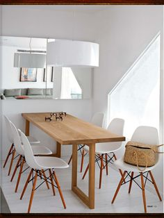 1000 images about style scandinave inspirations on - Table salle a manger bois et metal ...