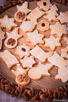 Super recette de petits sablés de Noël! #sansgluten                                                                                                                                                                                 Plus