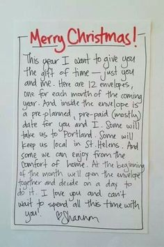 The gift of TIME: LOVE IT!