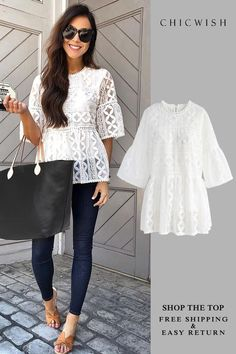 Search results for: 'dolly top' - Retro, Indie and Unique Fashion Outfit Chic, Outfit Jeans, Mode Outfits, Casual Outfits, Fashion Outfits, Look Fashion, Unique Fashion, Spring Summer Fashion, Spring Outfits