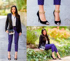 Diy Ankle Chains, Sheinside Blouse, Kenneth Cole Shoes - DIY ankle chains - Crimenes-de-la-Moda M