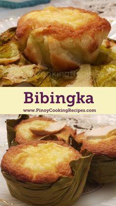 Delicious homemade Bibingka – Famous Last Words Special Bibingka Recipe, Easy Bibingka Recipe, Cassava Bibingka Recipe, Philipinische Desserts, Asian Desserts, Mango Dessert Recipes, Pinoy Dessert, Filipino Desserts, Filipino Dishes