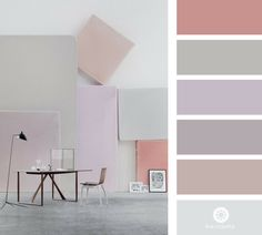 Colour palette for my craft room