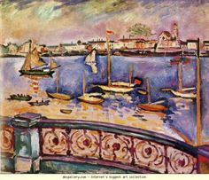 Georges Braque. Georges Braque. The Port of Antwerp. 1906. Oil on canvas. 49.8 x 61 cm. National Gallery of Canada, Ottawa, Canada Olga's Gallery.