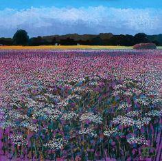 Ton Dubbeldam – Nature's Garden – oil with dry pastel