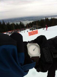 #Slow #Watch #Travel #Concept #Swiss #Snow