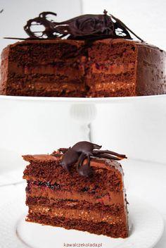 Tort czekoladowy II | Kawa i Czekolada Nutella, Sweets, Food, Gummi Candy, Candy, Essen, Goodies, Meals, Yemek