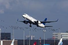"An Air Astana Boeing 757 takes off from Amsterdam Schiphol International Airport. (Photo: Flickr: <a href=""http://creativecommons.org/licenses/by-sa/2.0/"" target=""_blank"">Creative Commons (BY-SA)</a> by <a href=""http://flickr.com/people/44939325@N02"" target=""_blank"">maarten-sr</a>)"