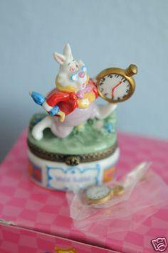 Alice in Wonderland Limoges box!