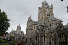 Christ Church Cathedral - Dublin, Ireland by fisherbray, via Flickr