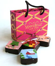 MarieBelle New York Chocolates are the ideal gift for any traveler with a sweet tooth.