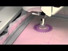This video is about Husqvarna Viking Topaz 40 67 How to Embroider a Design