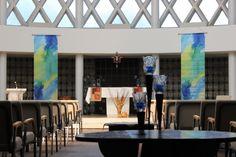Inside Dorcas Chapel- Marian University of Fond du Lac, WI