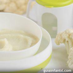 Puré o crema de coliflor para bebés