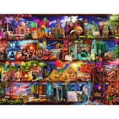 World of Books jigsaw puzzle