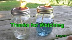 Mason Jar Candle - the most inexpensive of what I've seen.  Easy