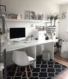 Creative Workspace Beautiful Home Office Office Design – The post Creative Workspace Beautiful Home Office Off… appeared first on Woman Casual - Home Inspiration Home Office Space, Home Office Design, Home Office Furniture, Home Office Decor, Home Design, Furniture Design, Home Decor, Office Designs, Office Workspace