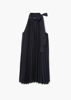 Vestido plisado | MNG