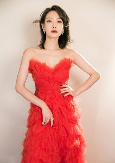 Song Qian, Victoria Song, Strapless Dress Formal, Formal Dresses, Amazing Women, Actresses, Actors, Female, Red