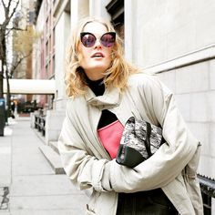 #hannegabyodiele#nyfw#한느가비 #paparazzi #snap#2015fw #fashionweek #newyork #sunglasses #cateye#gentlemonster #streetfashion #fashion@hannegabysees#imgmodels@imgmodels