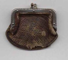 Coin Purse Owned by Abraham Lincoln when he lived in New Salem, IL