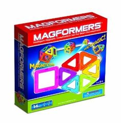 Amazon.com : Magformers 14 Piece Set : Toy Interlocking Building Sets : Toys & Games