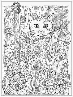 Marjorie Sarnats Pampered Pets Coloring Book