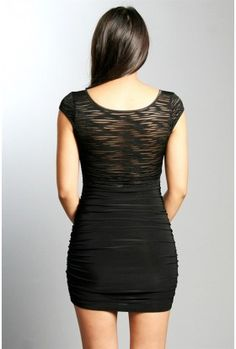 The Black Retro Party Dress $28.00