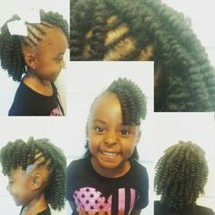 Crochet Hair For Toddlers : ... Braids & More on Pinterest Crochet Braids, Water Waves and Kids