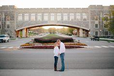 Engaged: Alex + Jenna | Virginia Tech Sunrise Session » Virginia Wedding + Destination Wedding Photographer