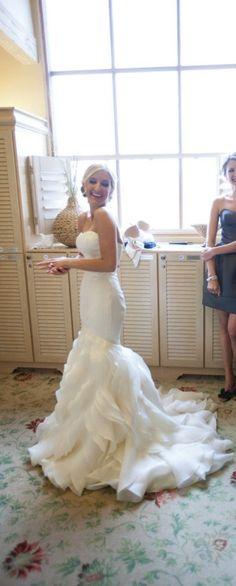 All Sizes Spring Natural Court Trumpet/Mermaid Strapless Floor-Length Organza Satin Wedding Dress Wedding Dress Organza, Sweetheart Wedding Dress, Wedding Dresses For Sale, Perfect Wedding Dress, Bridal Dresses, Wedding Gowns, Bridesmaid Dresses, Mermaid Sweetheart, Organza Dress