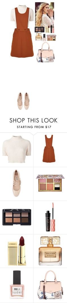 """""""Mary Janes fall outfit"""" by eliza-redkina on Polyvore featuring мода, Rachel Comey, TIBI, Miu Miu, Benefit, NARS Cosmetics, Lipstick Queen, Givenchy, ncLA и Fiorelli"""
