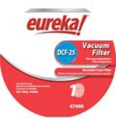 EUREKA Style DCF-25 Filter GENUINE #67600-2 >>#Eureka #VacuumFilters