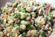 Vegetarian Chickpea Salad Recipe