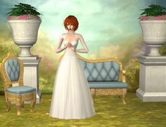 Classic Wedding DressClassic wedding gown, inspired by the wonderful creations of BEO. Note: The dress does not have morphs. DOWNLOAD: Maxis hands / Smooth hands Credits: BEO: textures / Tantra: top /...