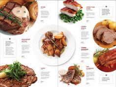 Convenient wine menu to make a quick choice Food Menu Design, Food Poster Design, Restaurant Menu Design, Diner Menu, Cafe Menu, Smoothie Menu, Menu Layout, Magazin Design, Menu Book