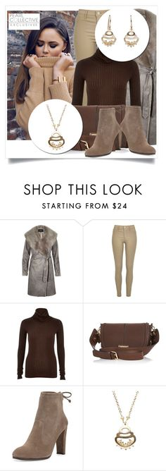 """SHOP - Pearl Collective - Necklace & Earrings"" by pearlcollective ❤ liked on Polyvore featuring River Island and Stuart Weitzman"
