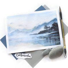 Иногда так хочется спокойствия и тишины особенно после насыщенных дней...подумать о своем...помечтать...посидеть на диване с книгой что надо сказать последний раз я делала ой как давно(( а что Вы сейчас читаете? Посоветуйте хорошую книгу;) люблю тяжелые книги содержательные #watercolor #waterblog #акварель #art_spotlight #justsketch365 #море #topcreator #чайки #птицы  #birds #небо #пейзаж #sky #landscape #picture #art #kustova #kustovaart #sketch #global_artist #inspiring_watercolors…
