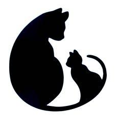 Cat Kitten Window Decal / Cat Kitten Computer Laptop Decal / Cat Car Decal / Cat Decal / Cats iPad decal / Cat iPhone decal / Kitten decal