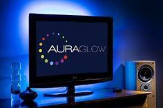 Auraglow Colour Changing 50cm 5v LED Strip USB TV Back Light Lighting Kit: Amazon.co.uk: Kitchen & Home